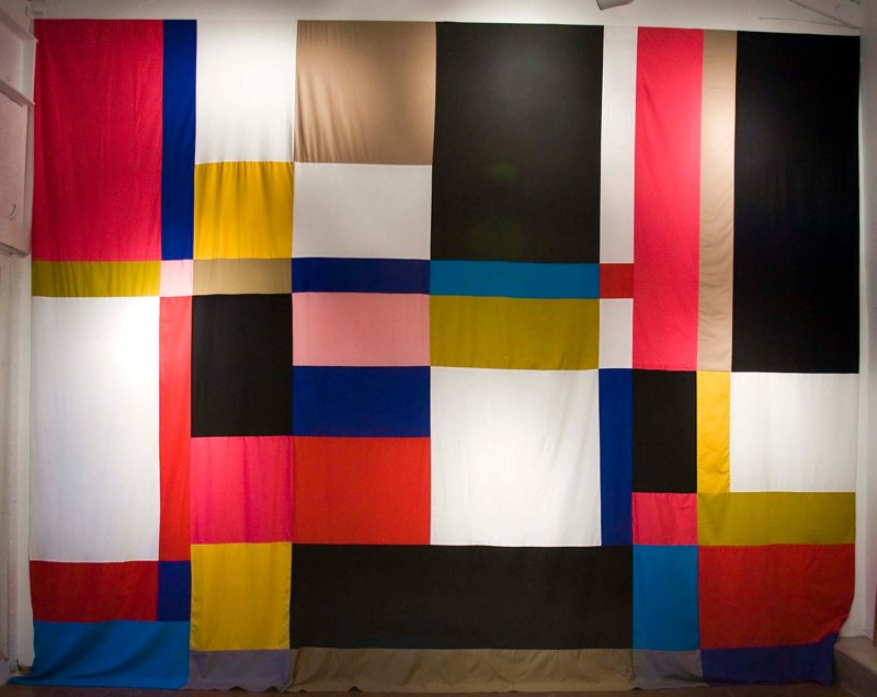 Marko Lulic Hommage Otti Berger, 2010 Cotton 13 x 16 1/2 feet