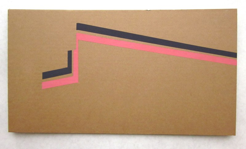 Jonathan Runcio Untitled (Corner), 2010 Goache on cardboard 10 x 18 inches