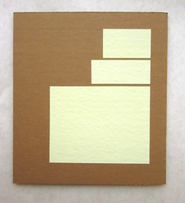 Jonathan Runcio Untitled (Covers), 2010 Goache on cardboard 10 x 9 inches