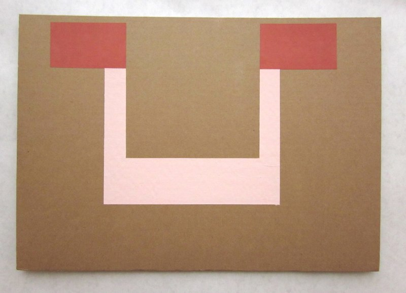 Jonathan Runcio Untitled (Depot), 2010 Goache on cardboard 16 x 11 inches
