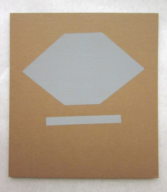 Jonathan Runcio Untitled (Sider), 2010 Goache on cardboard 15 x 18 inches