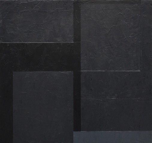 Macyn Bolt Interlude (A), 2010 acrylic on wood 15 x 16.5 inches