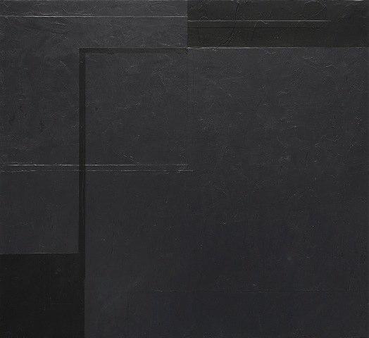 Macyn Bolt Interlude (C), 2010 acrylic on wood 15 x 16.5 inches