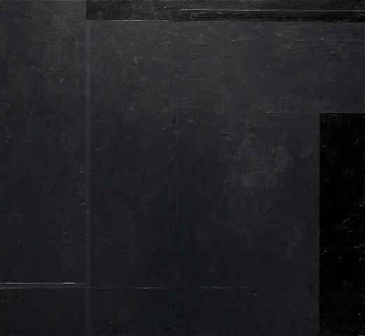 Macyn Bolt Interlude (E), 2010 acrylic on wood 15 x 16.5 inches