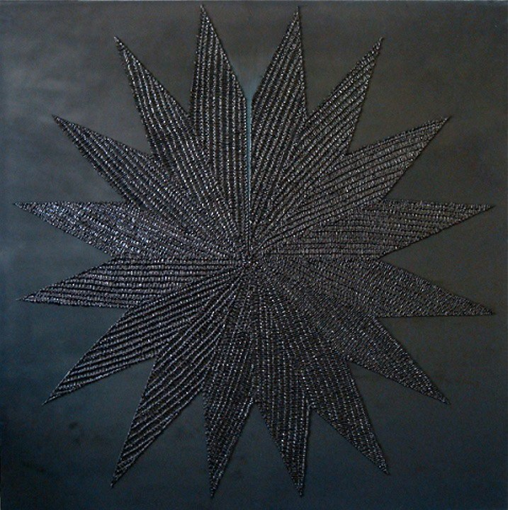 Danielle Mysliwiec Breach, 2008 oil on wood 36 x 36 inches