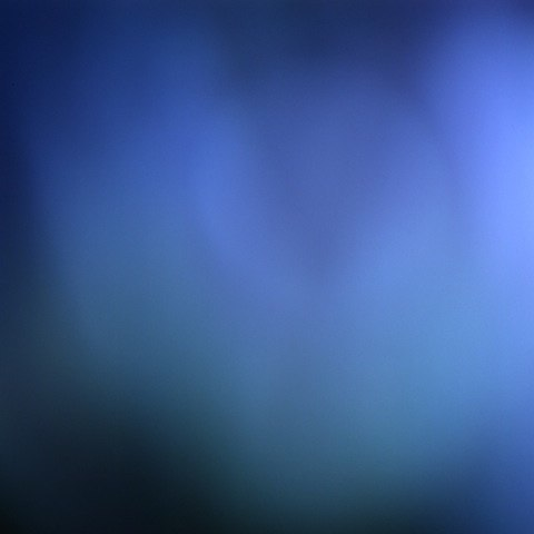 Keira Kotler  Lumina Indigo 061209, 2010 LightJet print on aluminum 24 x 24 inches
