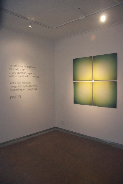 Keira Kotler Installation View, Stillness, 2010
