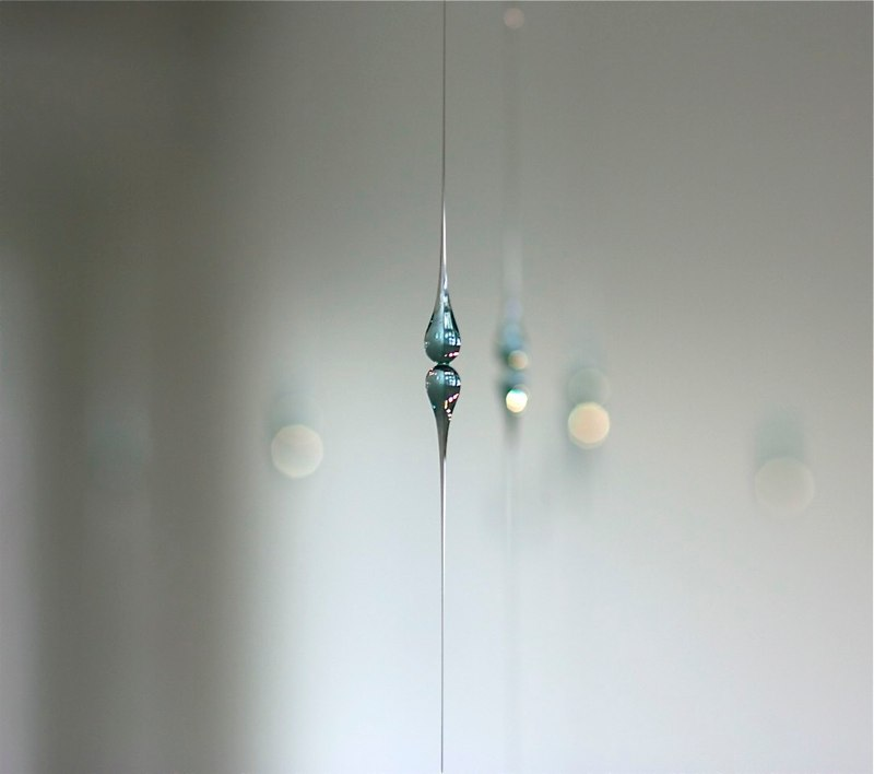 Kana Tanaka Mirror Surface, 2010, detail, glass, dimensions variable