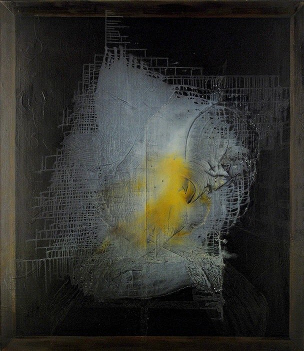 Aphanisis, 2011, oil on canvas, 78 x 68 inches