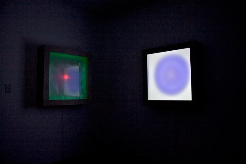 Light Box Installation View