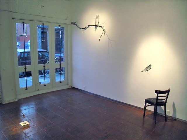 Sheila Ghidini, 2010, Installation View at Chandra Cerrito Contemporary