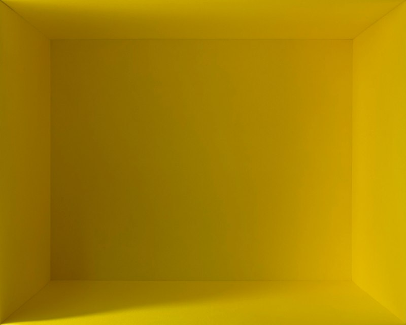 Yellow Light, 2012, Duratrans print, 24 x 30 x 4 inches