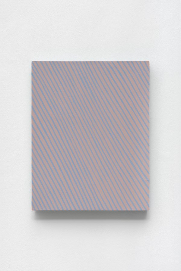 Olga, 2014-2015, acrylic on panel, 14 x 11 x 2 inches
