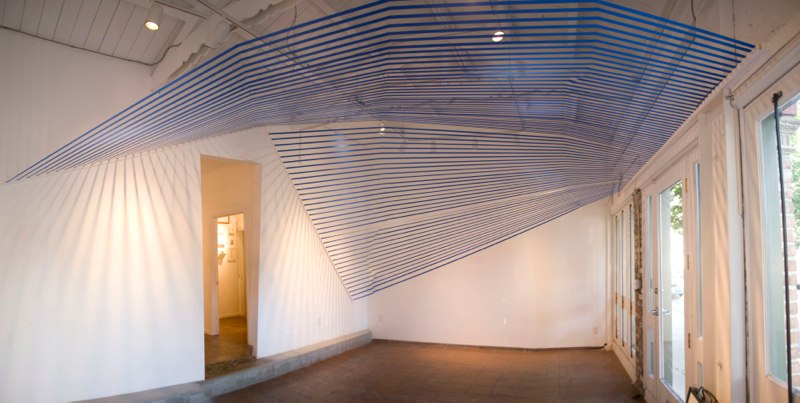 Blue Canopy, 2013, (another view)