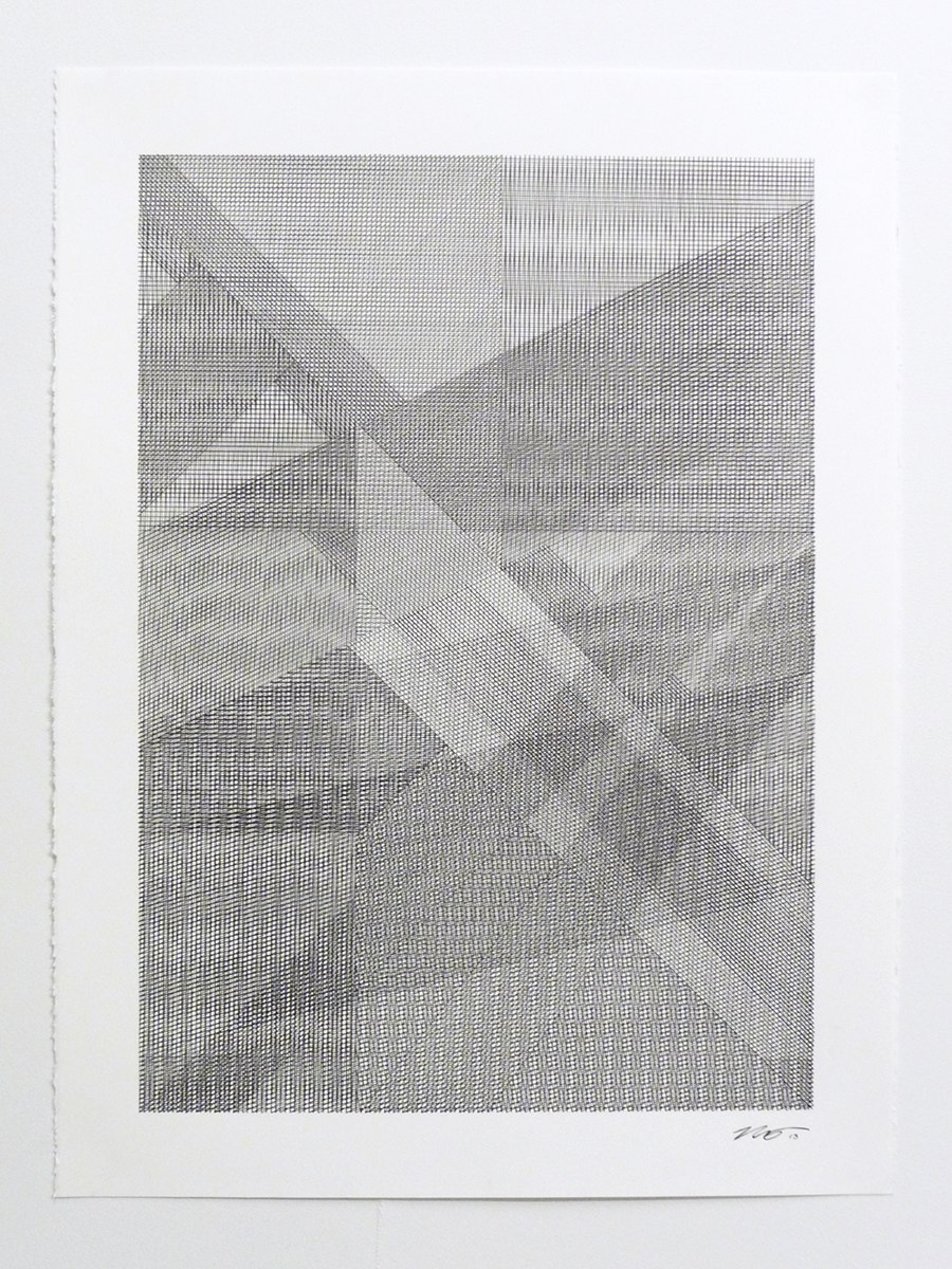 Mikey Kelly  -  13.331 , 2013 ink on paper 30 x 22 inches