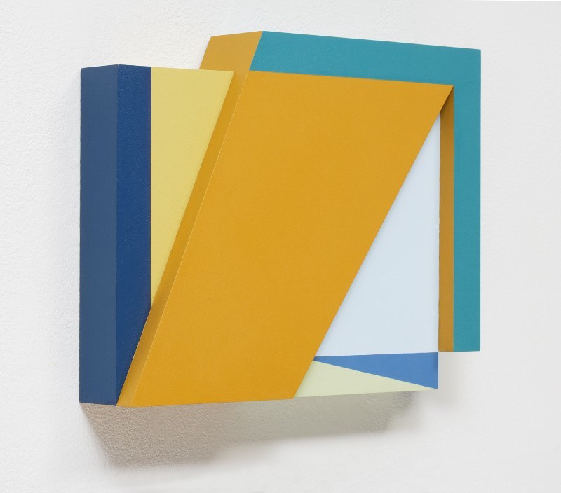 Connie Goldman Shift VI, 2015 oil on panel 9 x 11 x 2 inches