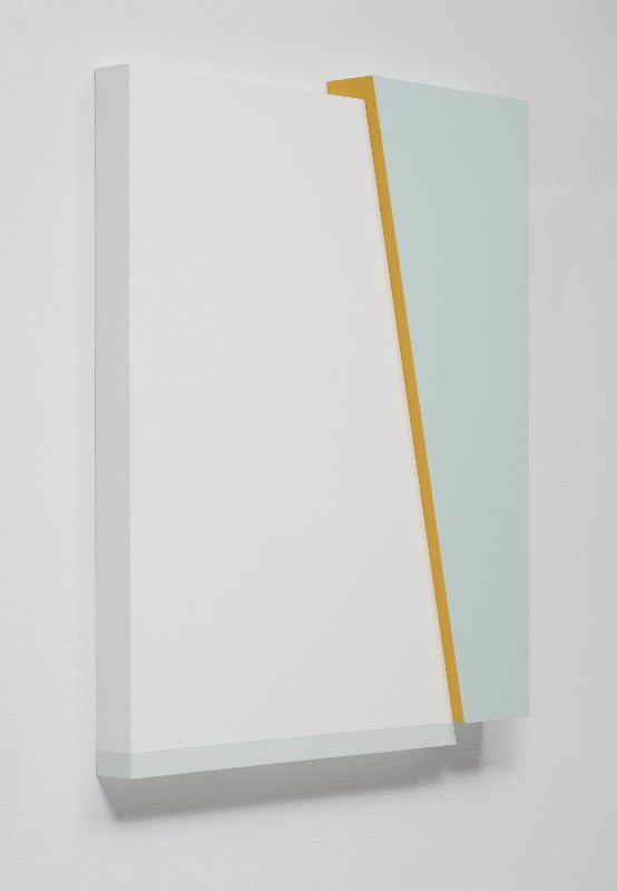 Connie Goldman Shift I, 2015 oil on panel 21 3/4 x 18 1/4 x 2 inches