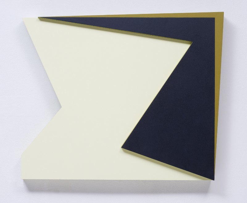 Connie Goldman Shift II, 2015 oil on panel 15 3/4 x 18 3/4 x 2 inches