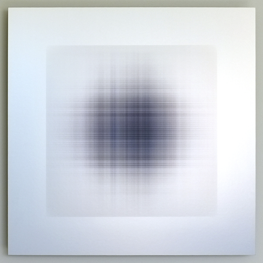 "Penny Olson, ""Wafer 332,"" 2015, archival inkjet print on aluminum, 20 x 20 inches"