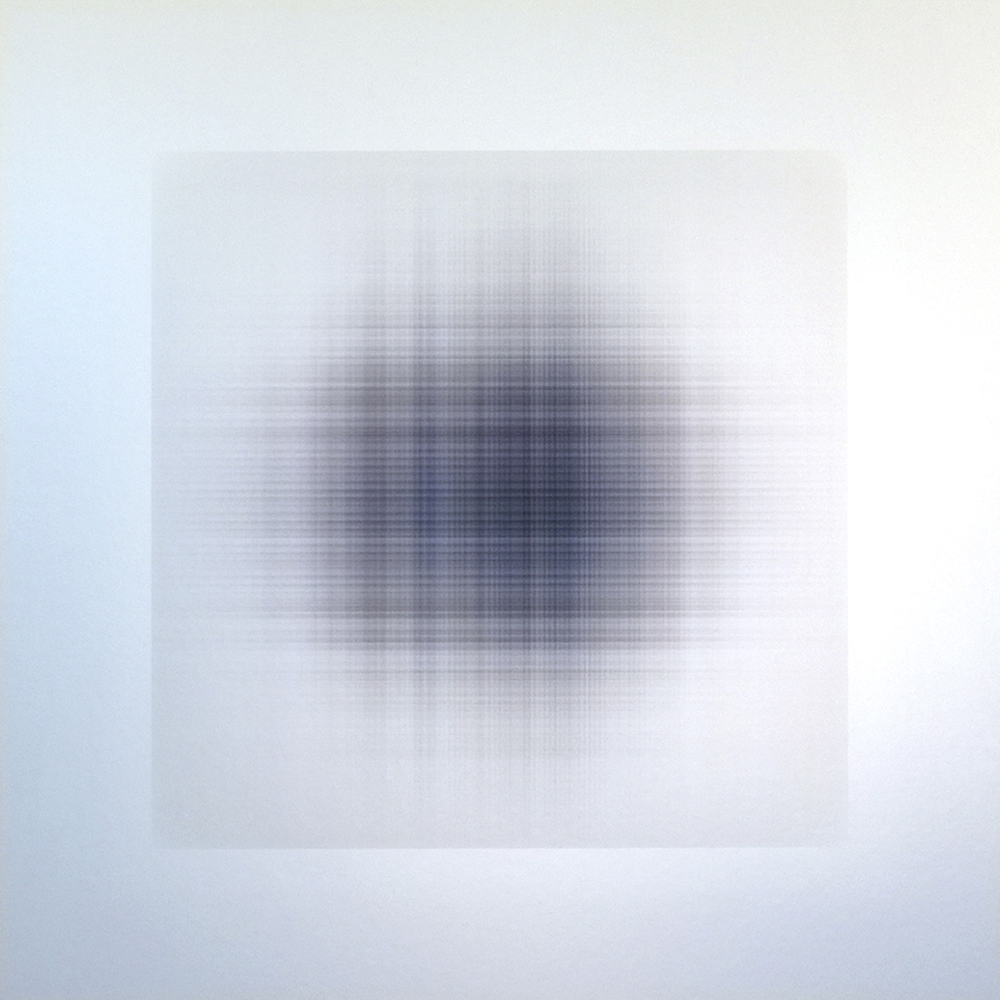 Penny Olson, Wafer 332, 2015, archival print on aluminum,  20 x 20 inches