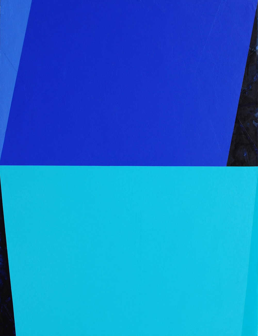 Shadow Boxer (restivemeasures-M.12.5), 2015, acrylic on canvas, 48 x 38 inches