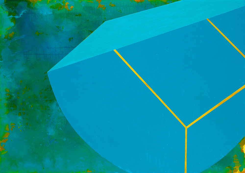 Untitled (8.28), 2012, acrylic on canvas, 50 x 70 inches