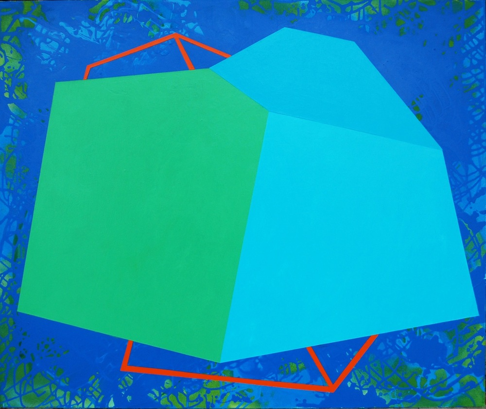 Untitled (12.20.3), 2013, acrylic on canvas, 38 x 46 inches