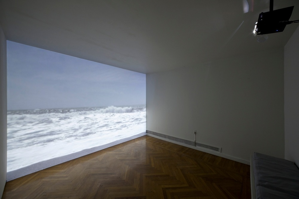 Wave, 2010, single-channel video projection, dimensions variable