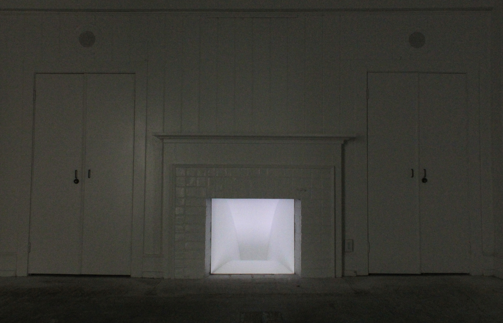 Wall Space II:Drop, 2012, single channel video projection, 33 x 30 inches