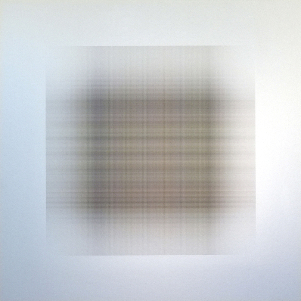 WAFER.318, 2015, archival inkjet print on aluminum, 20 x 20 inches