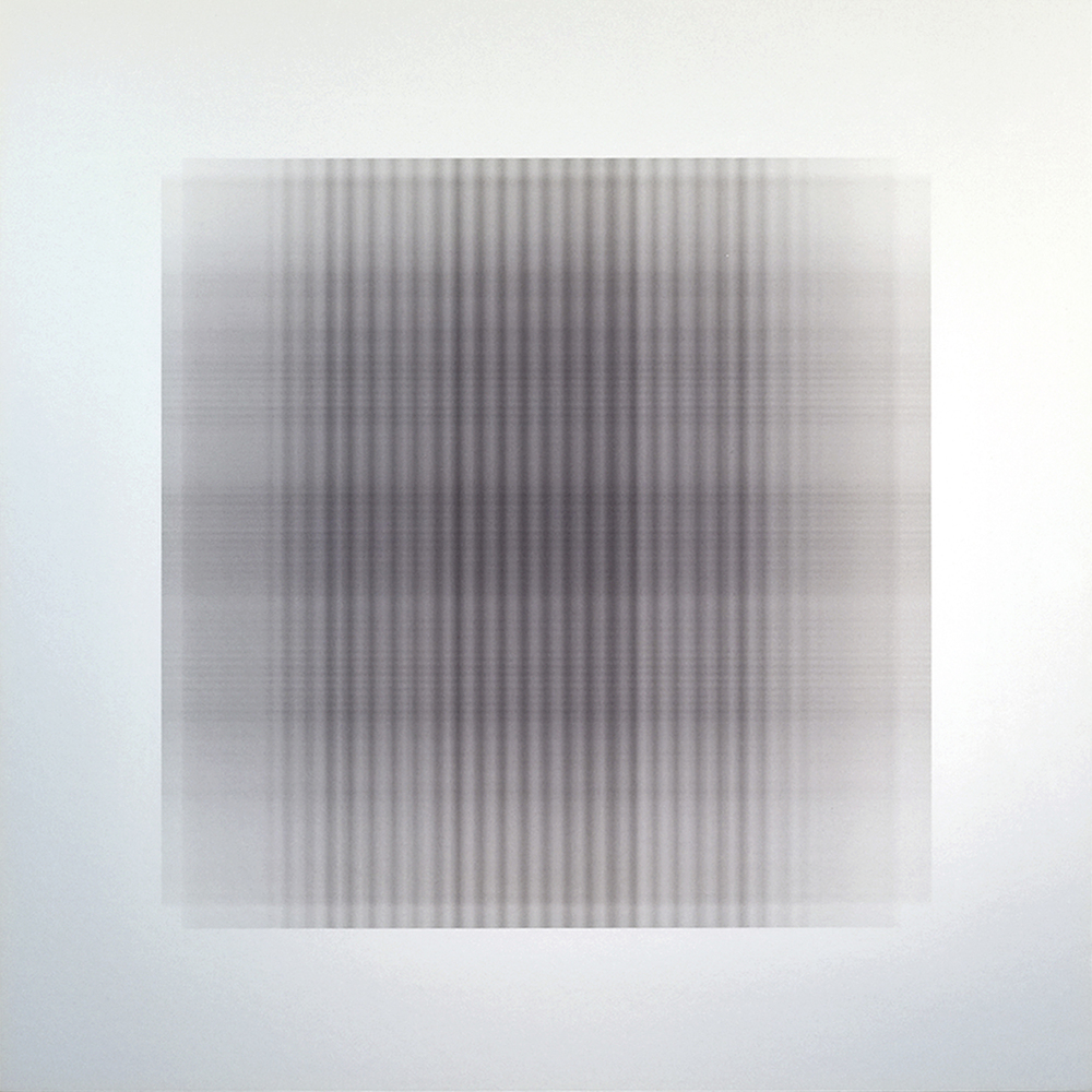 WAFER.319, 2015, archival inkjet print on aluminum, 20 x 20 inches