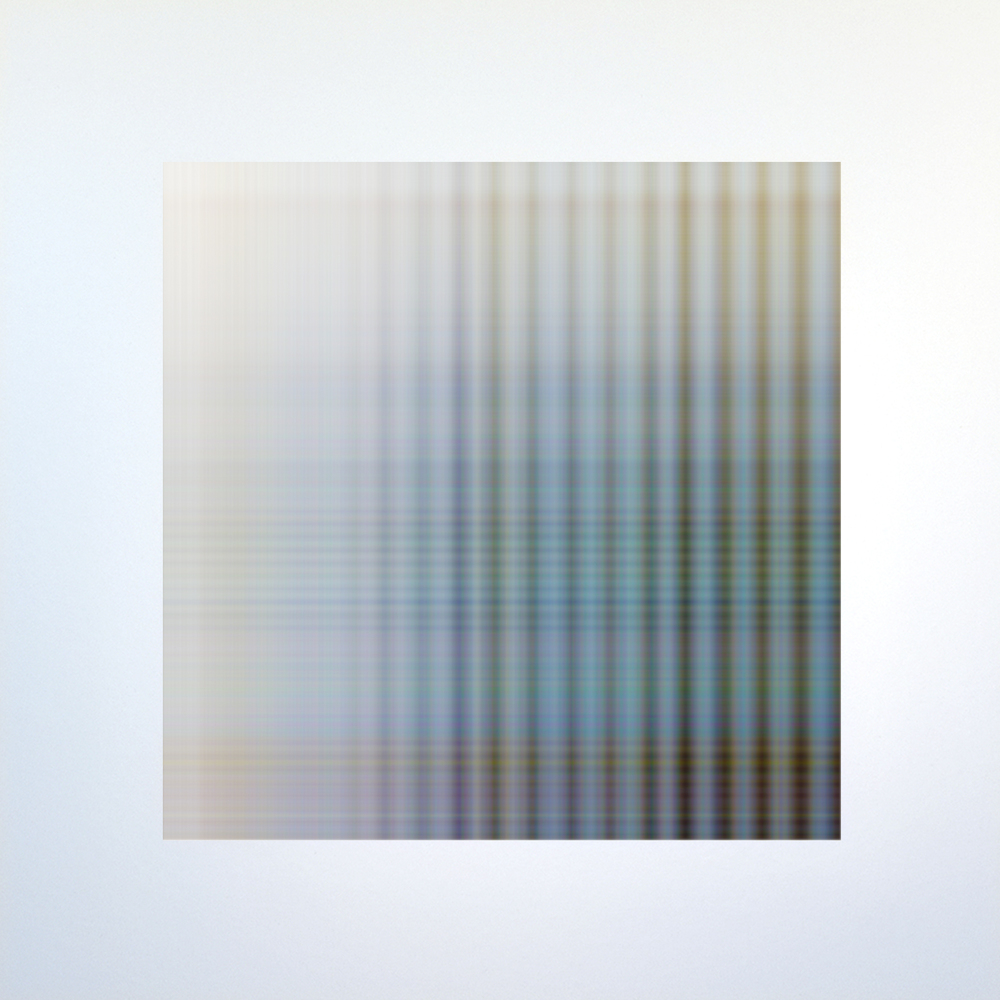 WAFER.319.a., 2015, archival inkjet print on aluminum, 20 x 20 inches