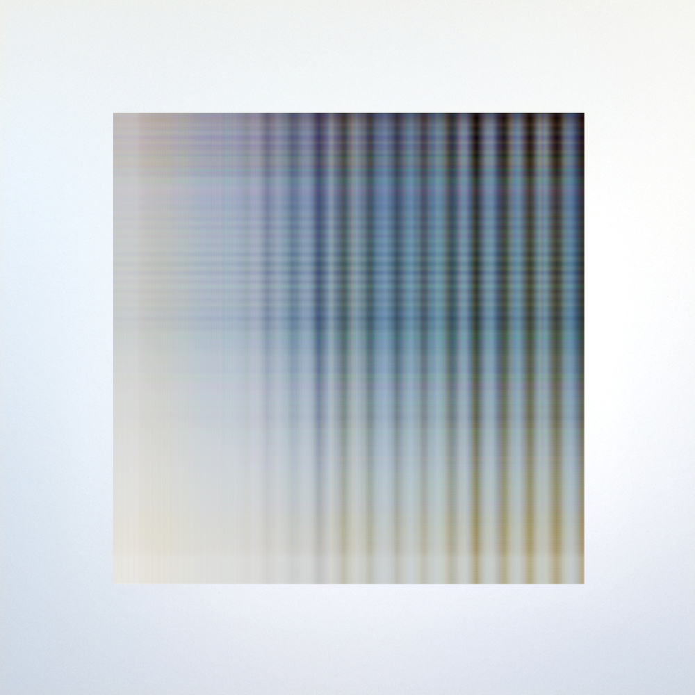 WAFER.319.c., 2015, archival inkjet print on aluminum, 20 x 20 inches