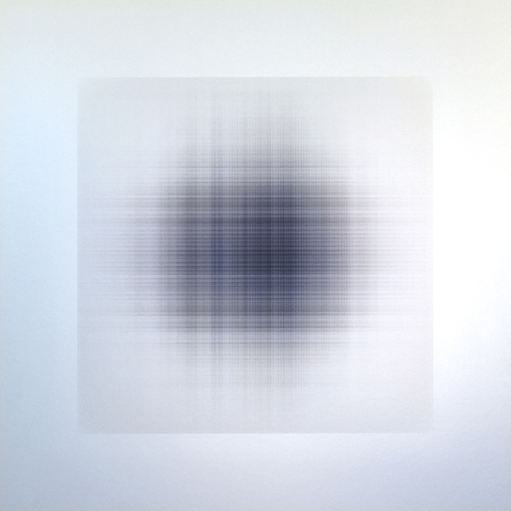 WAFER.332, 2015, archival inkjet print on aluminum, 20 x 20 inches