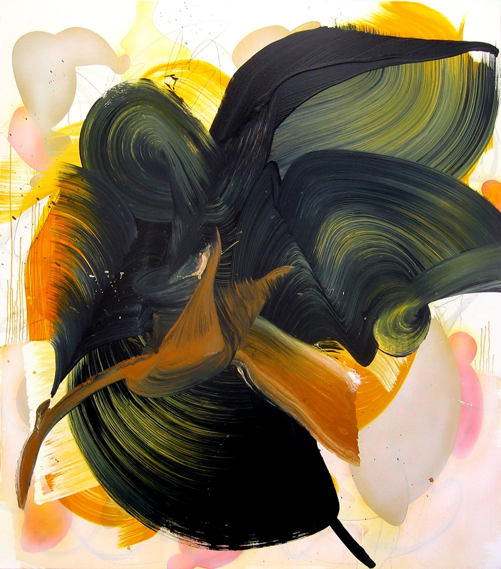 One Bird Knows The Hour Of My Death, 2006, oil on canvas, 67 x 59 inches