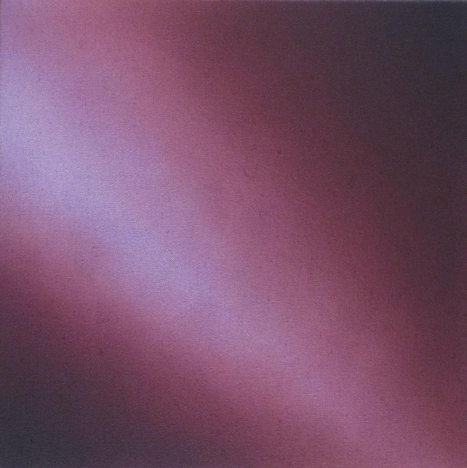 Chroma 6, 2010, acrylic on canvas, 12 x 12 inches