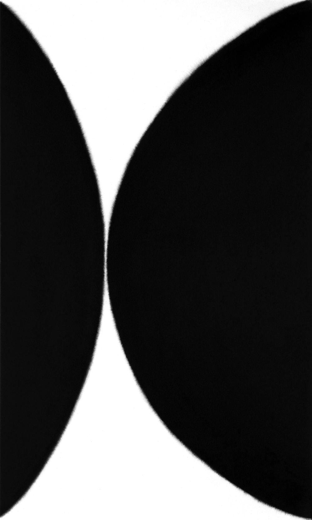 Flux #99, 2009, acrylic on canvas, 60 x 36 inches