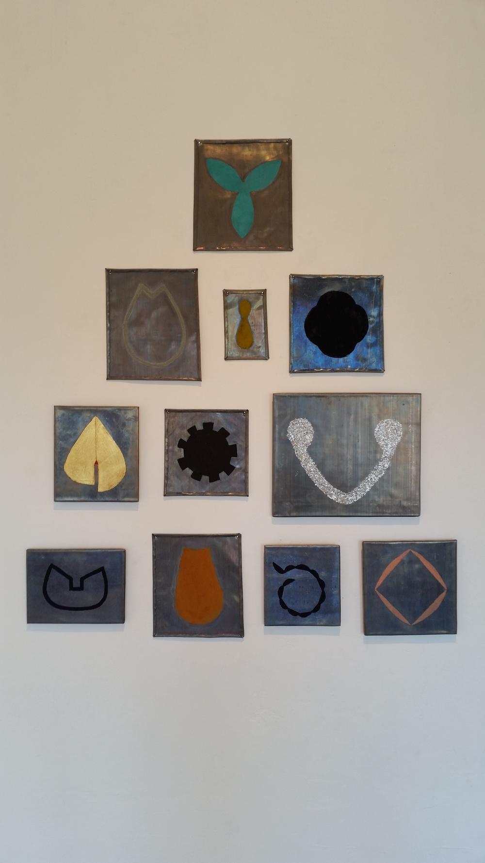 Mari Andrews, (installation view)
