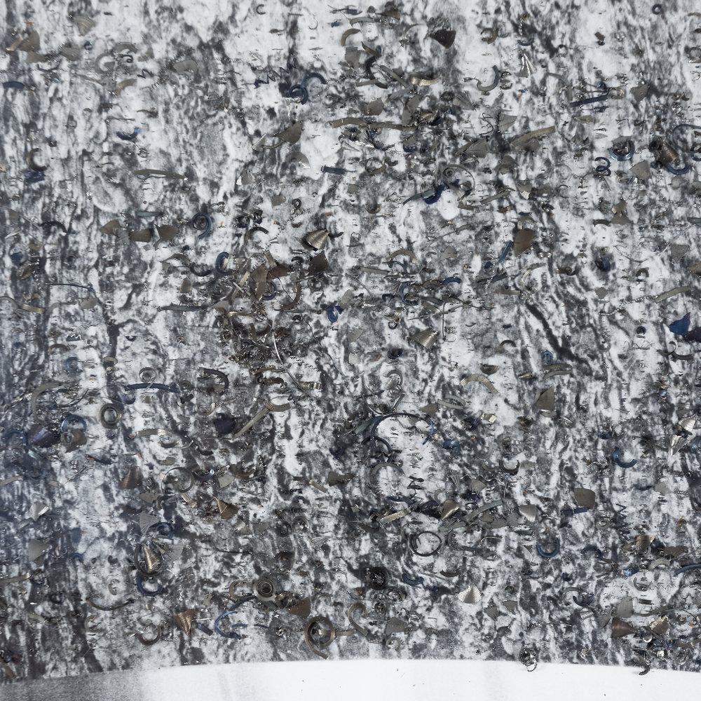 """""""Das Waldsterben 2,"""" (detail 2)"""