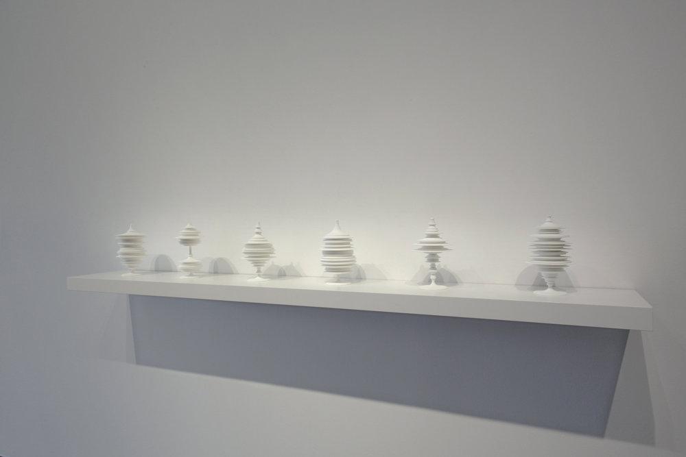 "Laura Splan, ""Manifest,"" 2015, Laser sintered polyamide nylon, 8 x 4.75 x 4.75 inches, edition of 5 plus one artist proof"