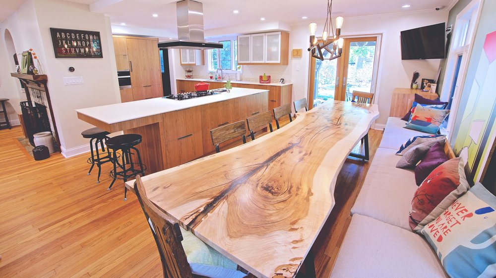 Single Slab Dining Table