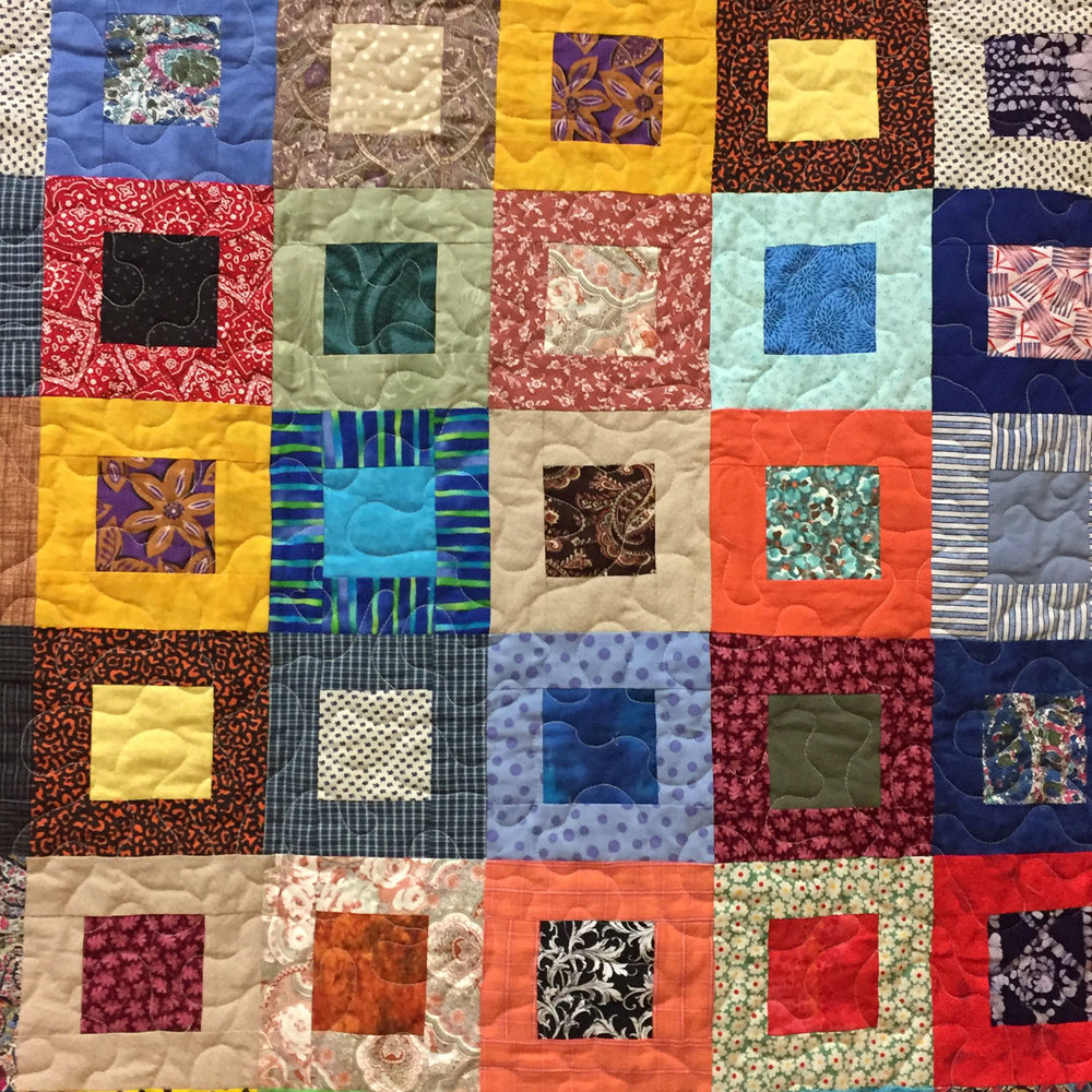 Veteran quilt by Pat Decker