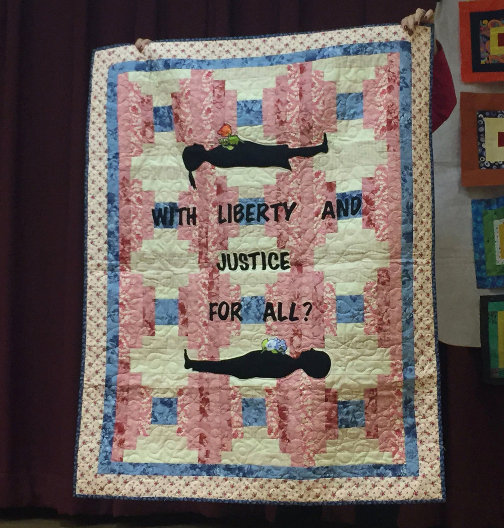 With Liberty and Justice For All?  By Sylvia Hernandez