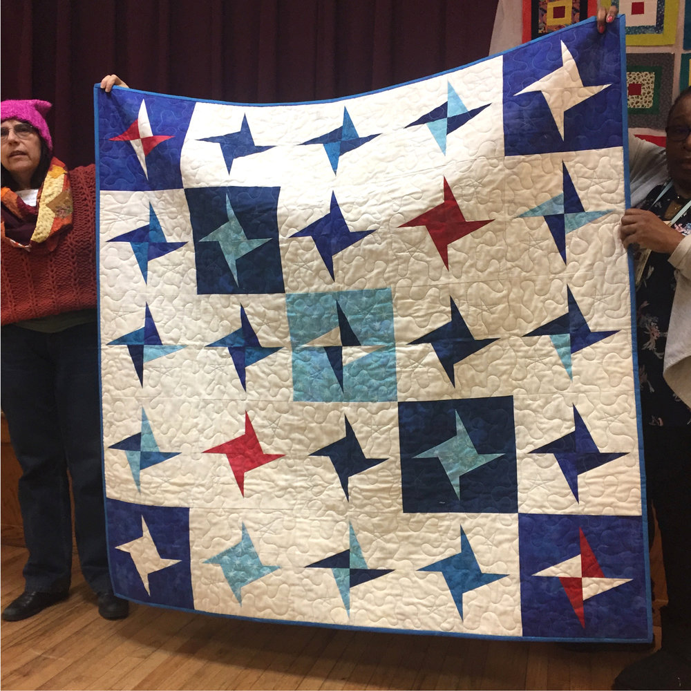 Labor of Love Quilt -- H.O.P.S. (Helping Our Post 9/11 Survivors)