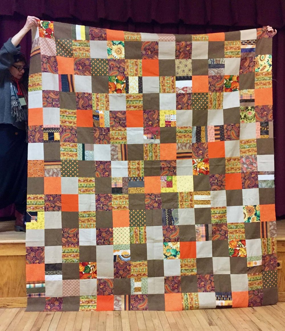 Comfort quilt by Terry Lomonte