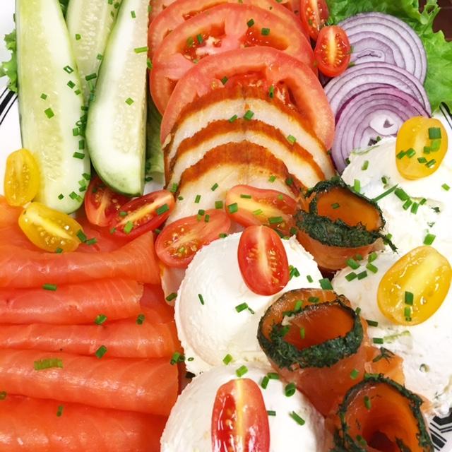 Custom Appetizing Plate