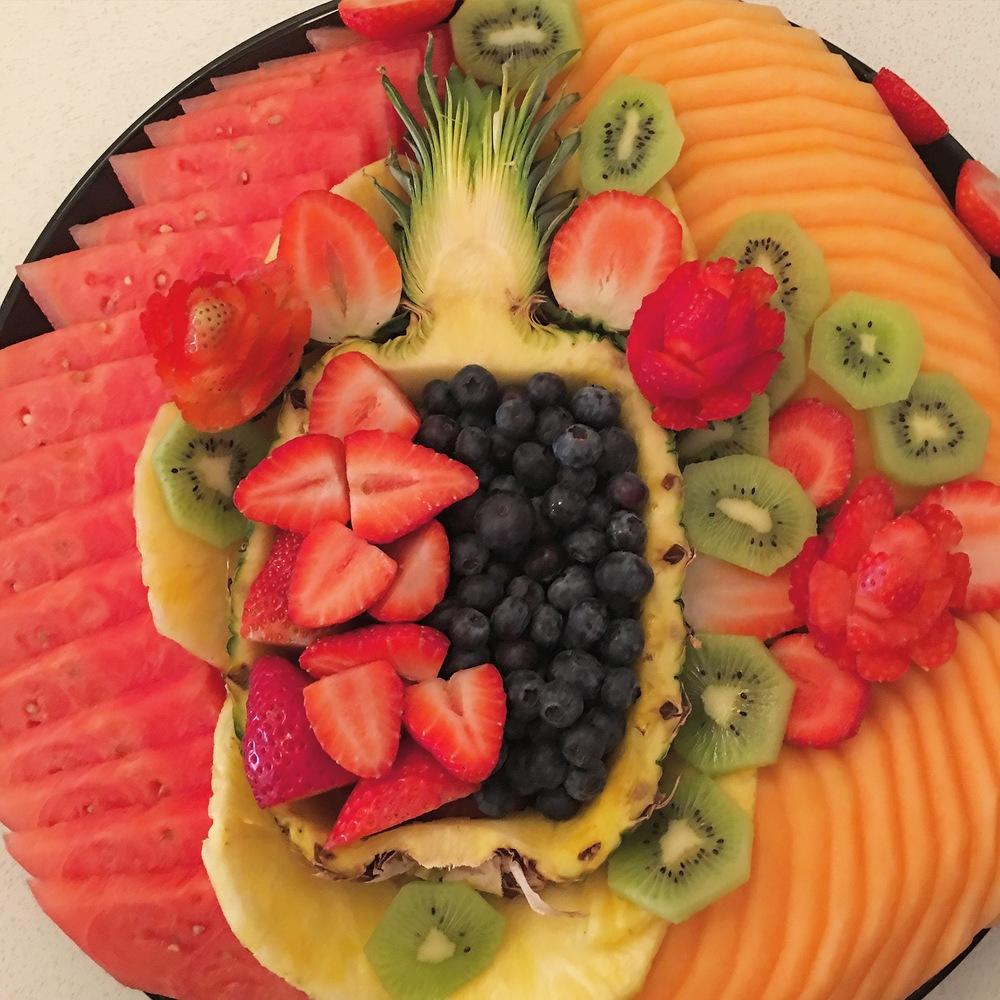 Baz Fruit Plate