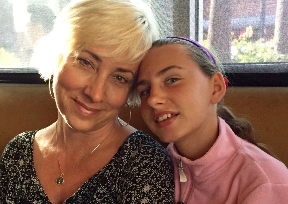 Kay and her lovely daughter, Esther