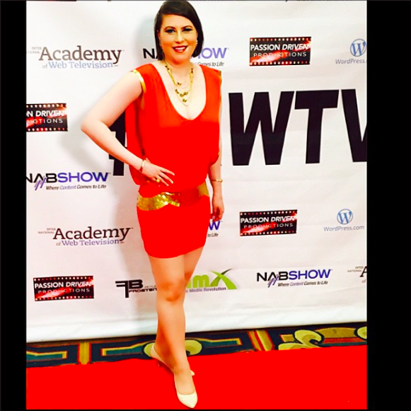 On the IAWTV red carpet