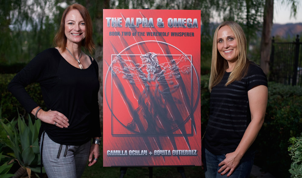 With The Alpha & Omega poster.